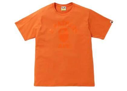 Bape Tonal College T Orange (SS20)の写真