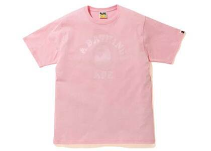 Bape Tonal College T Pink (SS20)の写真