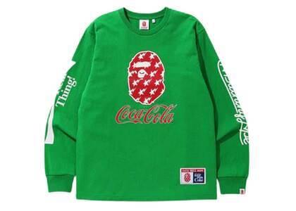 Bape x Coca Cola L/S T Green (SS20)の写真