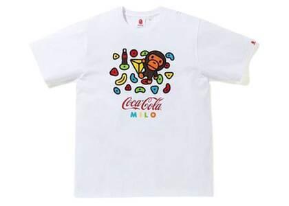 Bape x Coca Cola Milo Sport Climbing T White (SS20)の写真