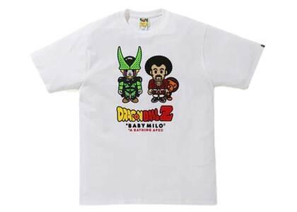Bape x Dragon Ball Z Baby Milo Mr Satan & Cell T White (SS20)の写真