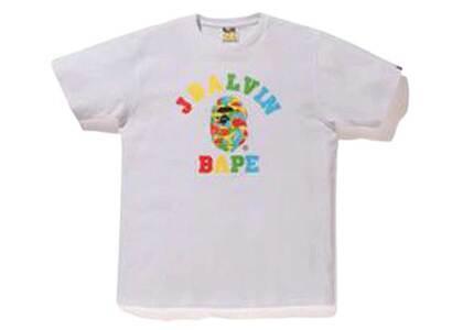 Bape x J Balvin Camo College Logo T White (SS20)の写真