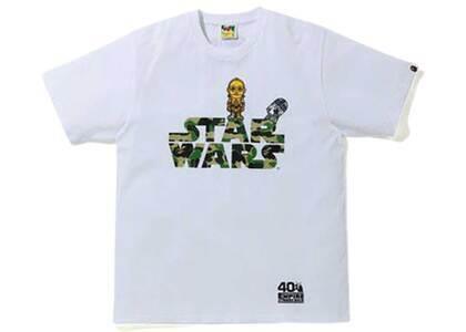 Bape X Star Wars R2-D2 & C-3PO T White (SS20)の写真
