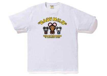 Bape Year of The Mouse Baby Milo T White (SS20)の写真