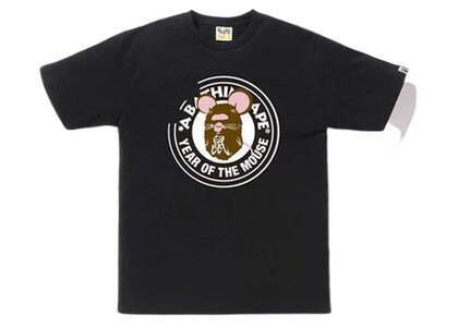 Bape Year of The Mouse T Black (SS20)の写真