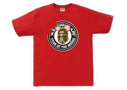 Bape Year of The Mouse T Red (SS20)の写真