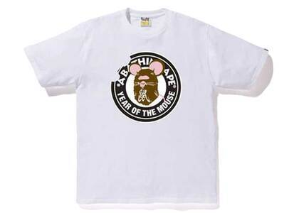 Bape Year of The Mouse T White (SS20)の写真