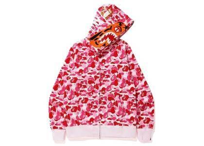 Bape ABC Camo Tiger Full Zip Hoodie Pink (SS20)の写真