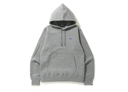 Bape Blue Ribbon One Point Pullover Hoodie Grey (SS20)の写真