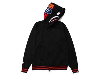 Bape Jersey Full Zip Hoodie (SS20) Black (SS20)の写真