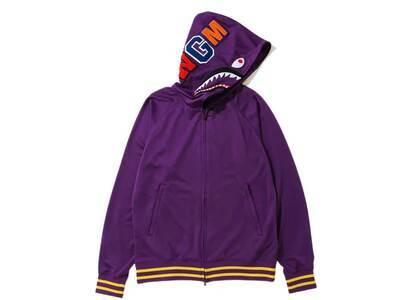 Bape Jersey Full Zip Hoodie (SS20) Purple (SS20)の写真