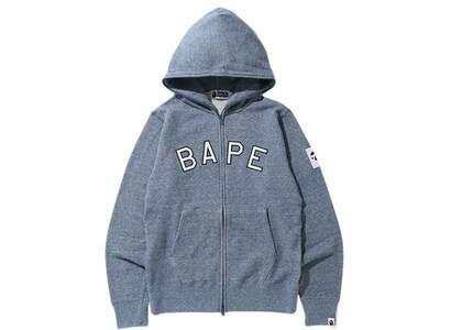Bape Melange Full Zip Hoodie Blue (SS20)の写真