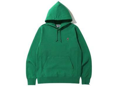 Bape One Point Pullover Hoodie Green (SS20)の写真