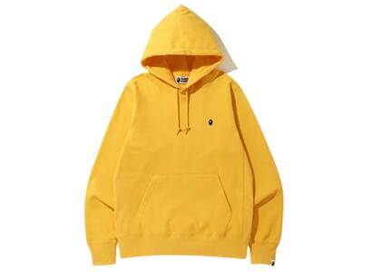 Bape One Point Pullover Hoodie Mustard (SS20)の写真