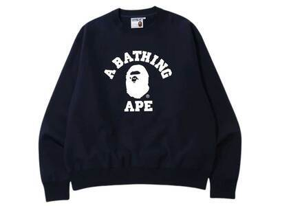 Bape Relaxed Classic College Crewneck Navy (SS20)の写真