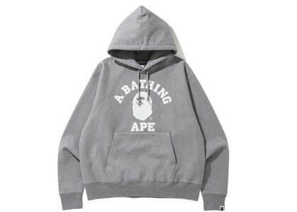 Bape Relaxed Classic College Pullover Hoodie Grey (SS20)の写真