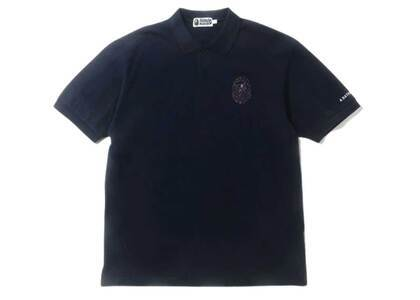 Bape Relaxed Multi Color Crystal Stone Polo Navy (SS20)の写真