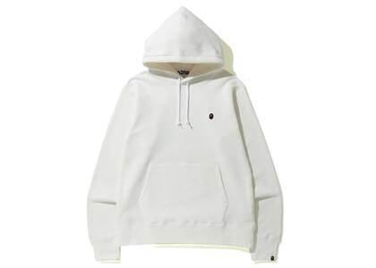 Bape Space Camo College Pullover Hoodie White (SS20)の写真