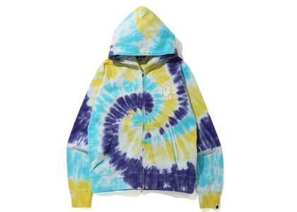 Bape Tie Dye Wide Full Zip Hoodie Multi (SS20)の写真