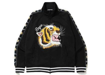 Bape Tiger Jersey Top Black (SS20)の写真