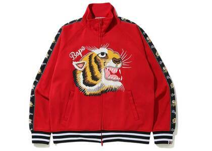 Bape Tiger Jersey Top Red (SS20)の写真