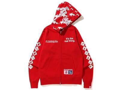 Bape x Coca Cola Full Zip Hoodie Red (SS20)の写真