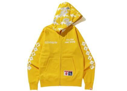 Bape x Coca Cola Full Zip Hoodie Yellow (SS20)の写真