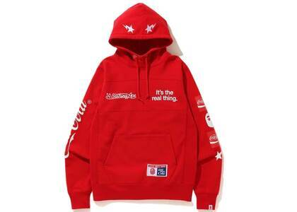 Bape x Coca Cola Pullover Hoodie Red (SS20)の写真