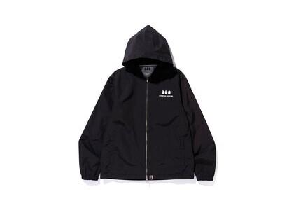 Bape x Comme des Garcons Hoodie Jacket Black (SS20)の写真