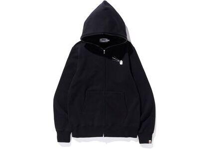 Bape x Comme des Garcons Osaka Full Zip Hoodie Black (SS20)の写真