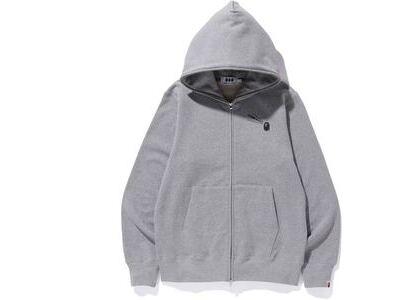 Bape x Comme des Garcons Osaka Full Zip Hoodie Grey (SS20)の写真