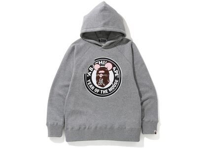 Bape Year of The Mouse Pullover Hoodie Grey (SS20)の写真