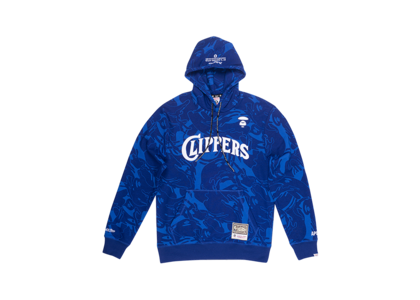 Aape x Mitchell & Ness San Diego Clippers Hoodie Navy (SS20)の写真