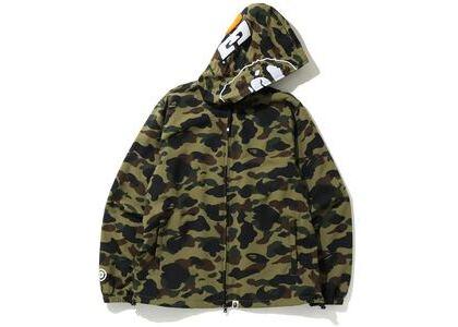 Bape 1st Camo 2nd Ape Full Zip Hoodie Jacket Green (SS20)の写真