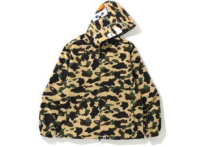 Bape 1st Camo 2nd Ape Full Zip Hoodie Jacket Yellow (SS20)の写真
