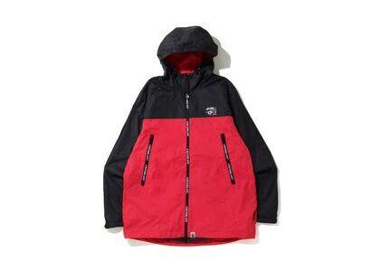Bape 2tone Hoodie Jacket Red (SS20)の写真