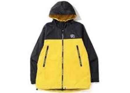 Bape 2tone Hoodie Jacket Yellow (SS20)の写真
