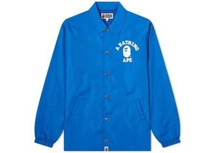 Bape College Coach Jacket Blue (SS20)の写真