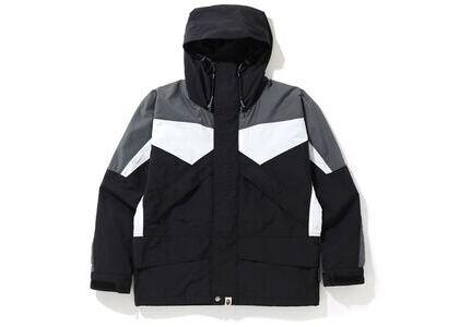 Bape Color Block Classic Snowboard Jacket Black (SS20)の写真