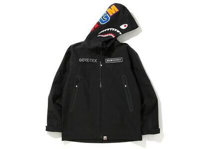 Bape Gore-Tex Shark Hoodie Jacket Black (SS20)の写真