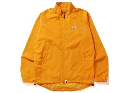 Bape Hologram Logo Cycling Jacket Yellow (SS20)の写真