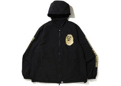 Bape Jewelry Motif Wide Hoodie Jacket Black (SS20)の写真