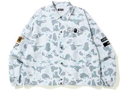 Bape Relaxed Space Camo Coach Jacket White (SS20)の写真