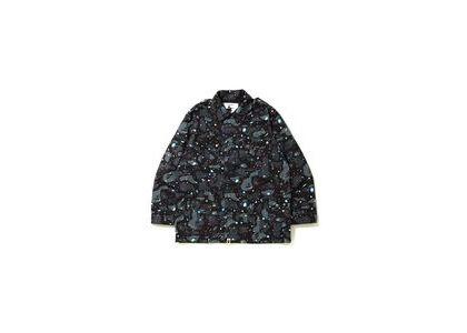 Bape Space Camo Military Jacket Black (SS20)の写真