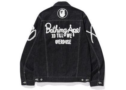 Bape x XO Denim Jacket Black (SS20)の写真