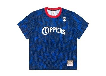 Aape x Mitchell & Ness San Diego Clippers BP Jersey Navy (SS20)の写真
