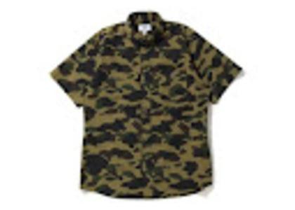 Bape 1st Camo BD S/S Shirt Green (SS20)の写真
