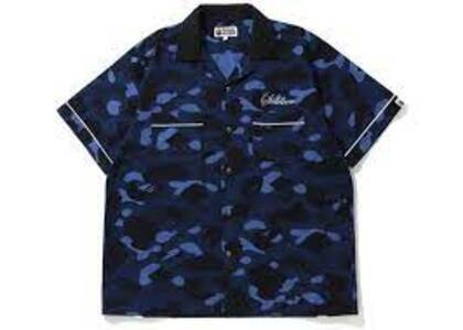 Bape Color Camo Sta S/S Shirt Blue (SS20)の写真