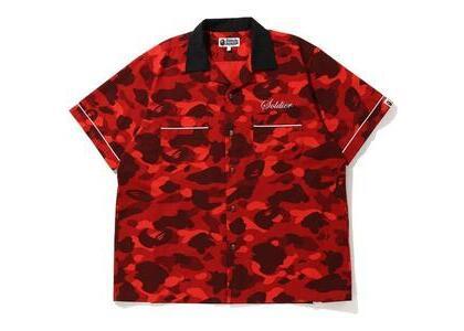 Bape Color Camo Sta S/S Shirt Red (SS20)の写真