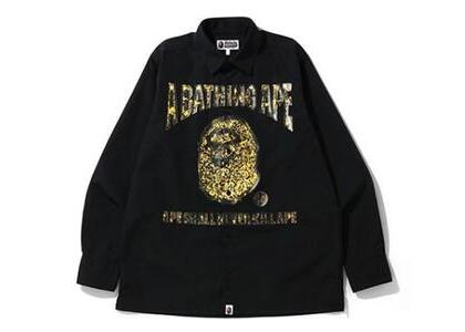 Bape Jewelry Motif Wide Shirt Black (SS20)の写真